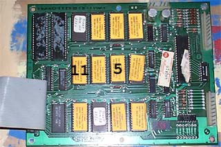 Williams ROM PCB